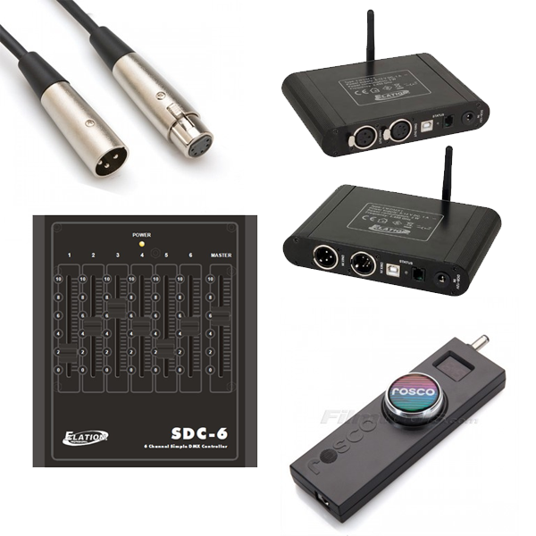 Dimmers & DMX Controllers