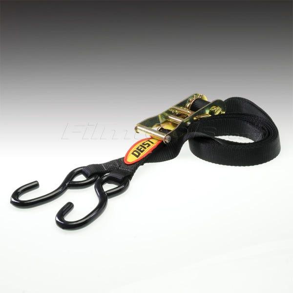 Deist Tie Down Strap 8' Adjustable Black - 36604