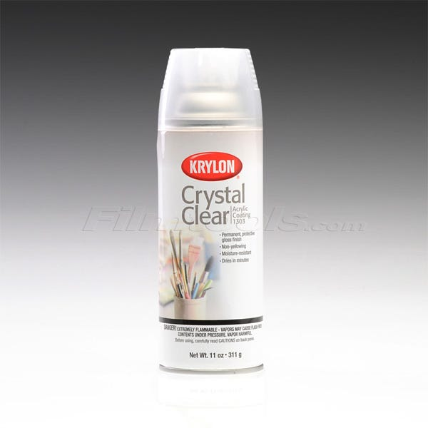 Krylon Crystal Clear Spray #1303 (Ground Only)