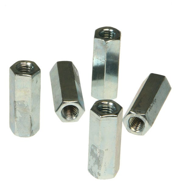 "3/8-16""x1-3/4"" Plated Coupler"