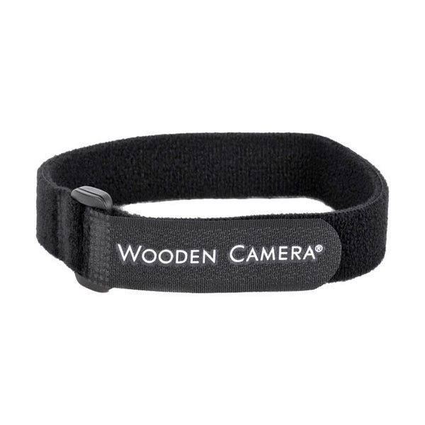 Wooden Camera Hook-and-Loop Cable Tie Strap - 10pk