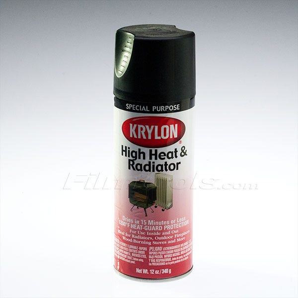Krylon High Heat Black Spray Paint (Ground Only)