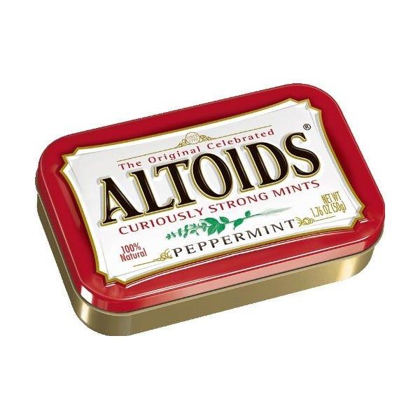 Altoids Peppermint Mints