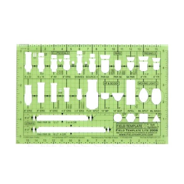 "Field Template™ Lite 1/2"" Lighting Template"