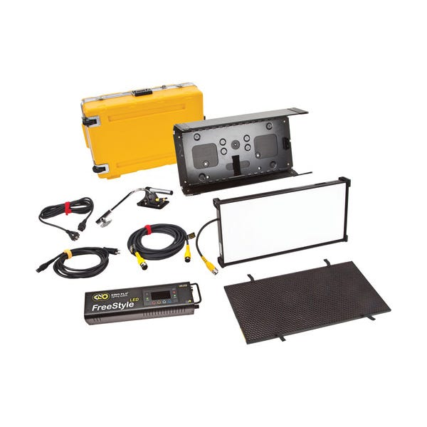 Kino Flo FreeStyle 21 LED DMX Kit with Flight Case