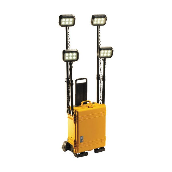 Pelican Remote Area Lighting System Quad RALS 9470 - Yellow