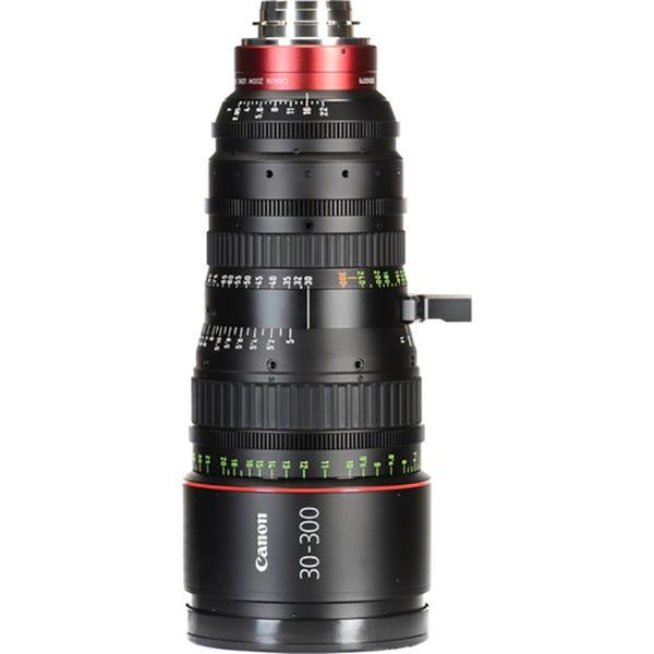 Canon CN-E 30-300mm T2.95-3.7 L SP PL Mount Cinema Zoom Lens