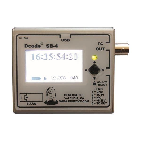 Denecke Syncbox Dcode SB-4 Time-Code Generator
