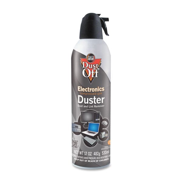 Falcon Compressed Gas Jumbo Disposable Cleaning Duster Can - 17 oz