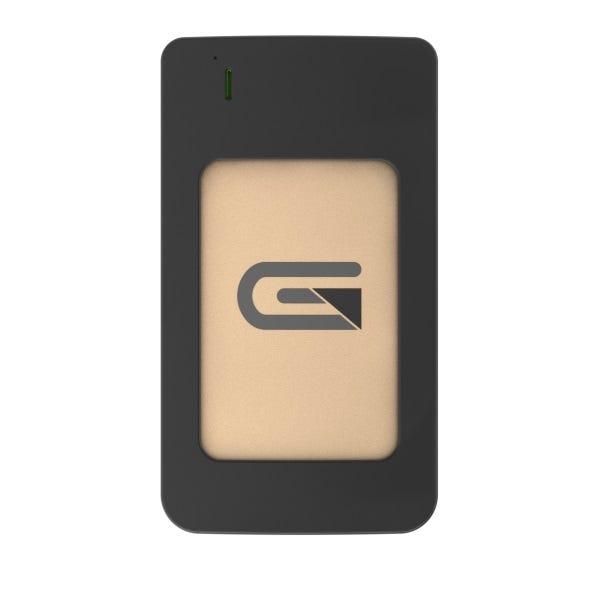 Glyph 2TB Atom RAID USB 3.1 Type-C Portable SSD - Gold