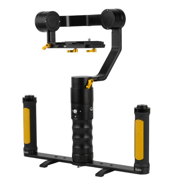 Ikan DS2 Dual Grip Handle Gimbal Kit