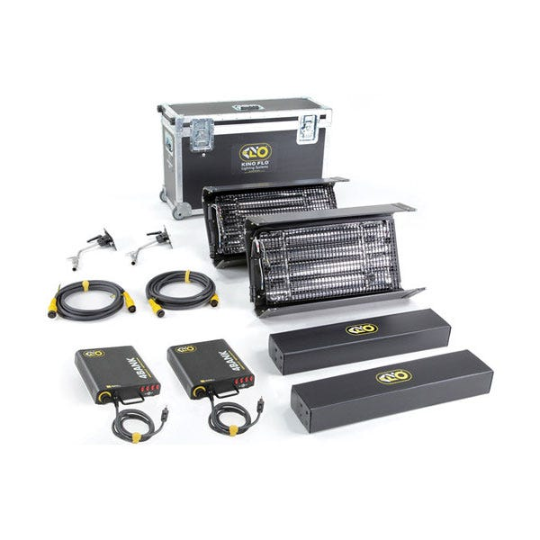Kino Flo Two Light Interview Select Light Kit-2NT-S120U