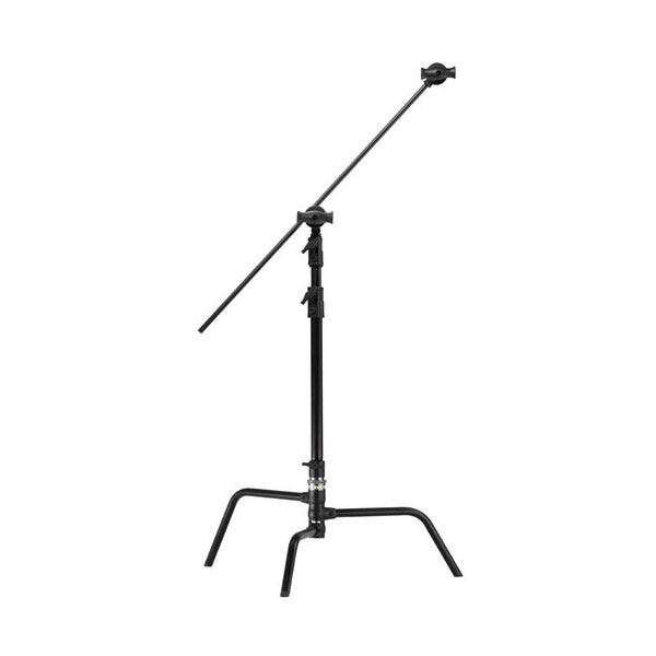"Kupo 20"" Master Black C-Stand with Turtle Base, Grip Head & Arm"