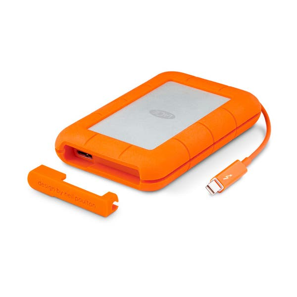 "LaCie 500GB Rugged Thunderbolt 2.5"" SSD - USB 3.0"