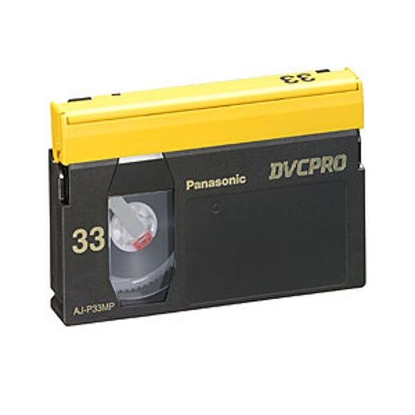 Panasonic AJ-P33M DVCPRO 33min Video Cassette - Medium DISCONTINUED