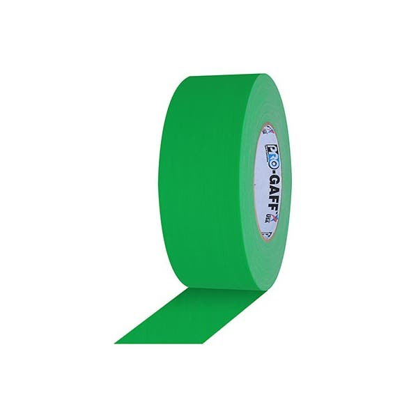 "Pro-Gaff 3"" Gaffer Tape - Chroma Key Green"