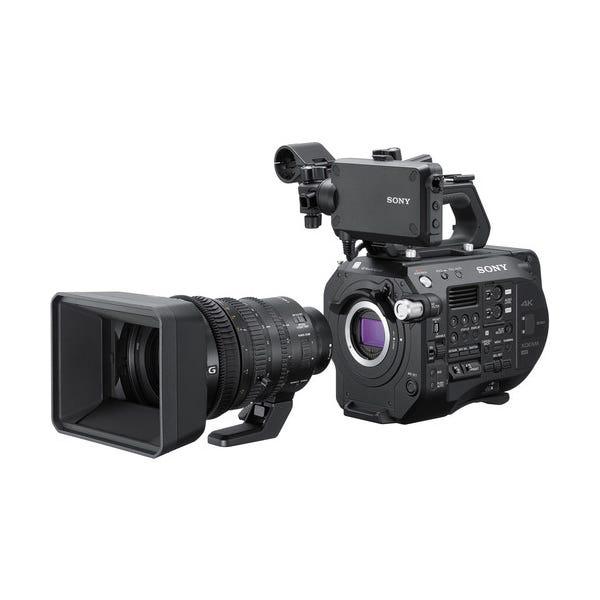 Sony PXW-FS7M2 4K XDCAM Super 35 Camcorder Kit w/ 18-110mm Zoom Lens