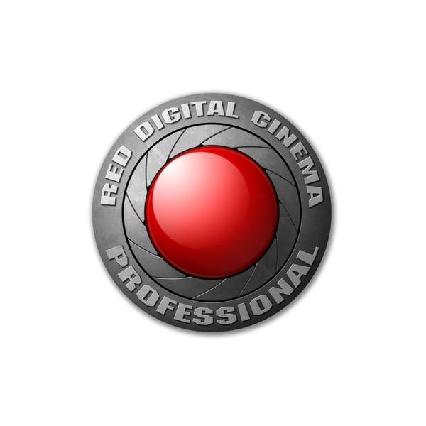 "RED 6"" Logo Sticker"