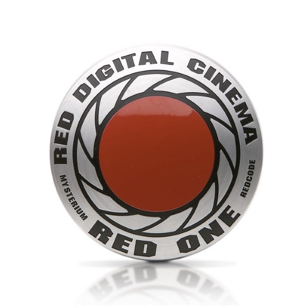 RED Digital METAL ICON (90mm)