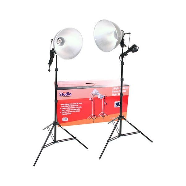 RPS Studio 1000 Watt 2 Light Kit
