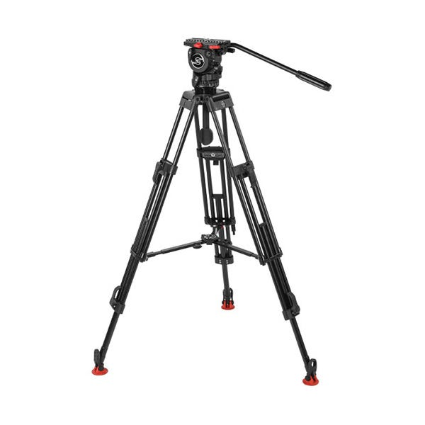 Sachtler 778 Aluminum Tripod System with FSB 8 Head, ENG 75/2 D HD Legs & Mid-Level Spreader