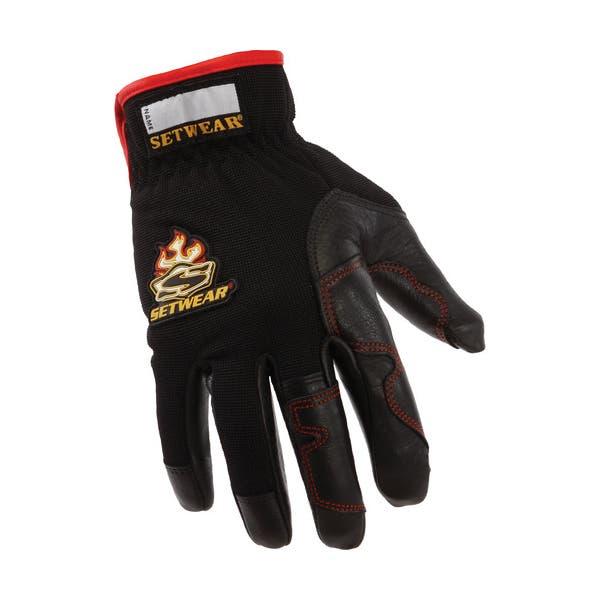 Setwear Black Hot Hands Gloves - Large